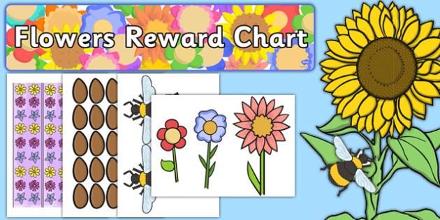 Flowers Reward Display Pack - flowers, reward, display pack
