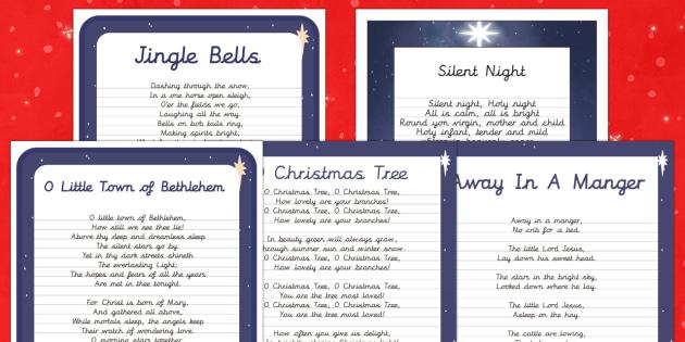 Christmas Carol Handwriting Practice   Activity Pack-Australia - Christmas, Nativity, Jesus, xmas, Xmas, Father Christmas, Santa, St Nic, Saint Nicholas, traditions,