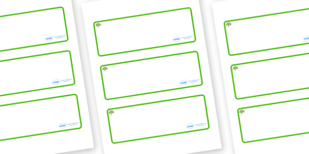 Apple Tree Themed Editable Drawer-Peg-Name Labels (Blank) - Themed Classroom Label Templates, Resource Labels, Name Labels, Editable Labels, Drawer Labels, Coat Peg Labels, Peg Label, KS1 Labels, Foundation Labels, Foundation Stage Labels, Teaching L