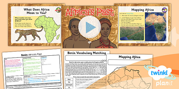 History: Benin: Africa's Past UKS2 Lesson Pack 1