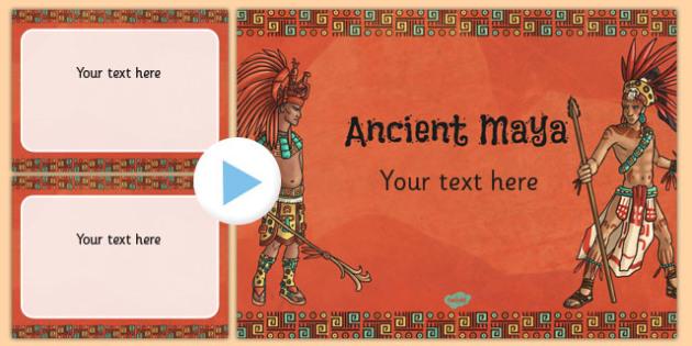 Civilisation themed powerpoint template mayan template mayan civilisation themed powerpoint template mayan template toneelgroepblik Gallery
