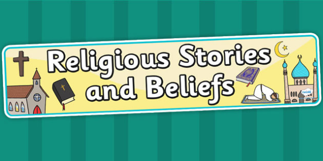 Religious Stories and Beliefs Display Banner - religion, header