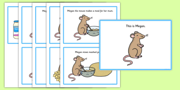 Initial m Story - speech sounds, phonology, phonological delay, phonological disorder, articulation, speech therapy, dyspraxia