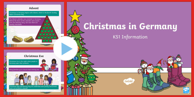 ks1 christmas in germany powerpoint christmas nativity jesus xmas xmas - When Is Christmas In Germany