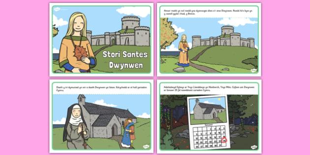 Stori Santes Dwynwen Story - welsh, cymraeg, santes dwynwen, cymru, Ionawr