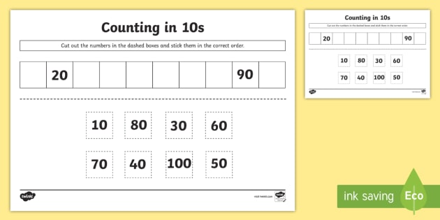 Skip Counting by 2, 5 and 10 – Worksheet / FREE Printable ...
