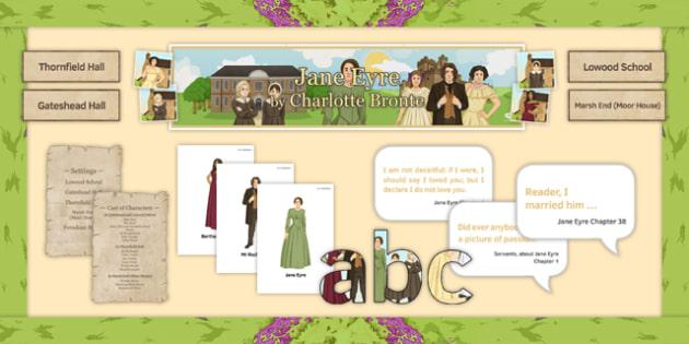 Gcse Jane Eyre Display Pack English Literature Gcse Aqa