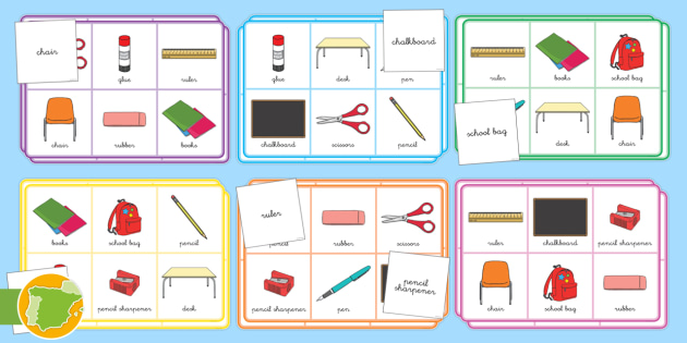 classroom objects in spanish pdf