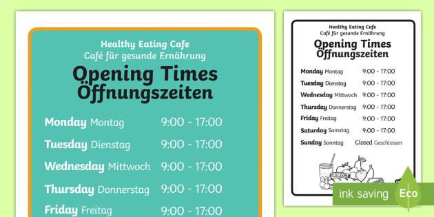 Gesunde Ernährung von Montag bis Sonntag