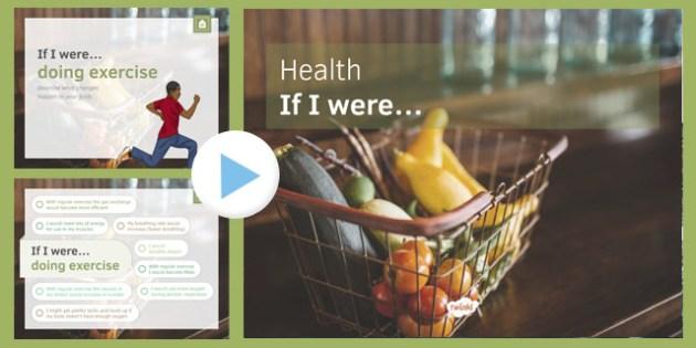 KS3 Health: If I were.... PowerPoint