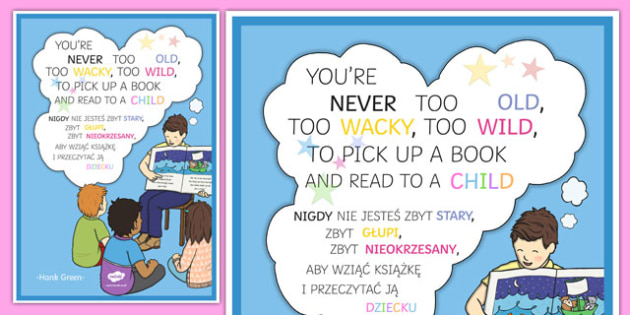 You're Never Too Old Motivational Poster Polish Translation - polish, motivation, poster