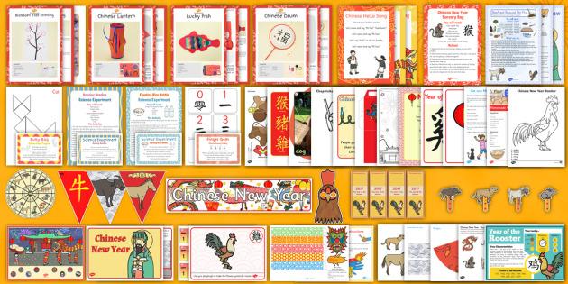 Childminder Chinese New Year Resource Pack - chinese new year