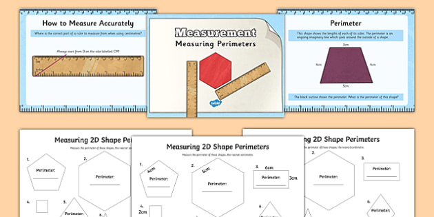 measuring the perimeter of d shapes powerpoint task setter and worksheets. Black Bedroom Furniture Sets. Home Design Ideas