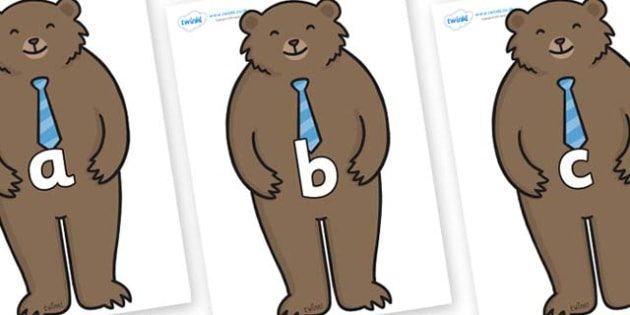 Phase 2 Phonemes on Daddy Bear - Phonemes, phoneme, Phase 2, Phase two, Foundation, Literacy, Letters and Sounds, DfES, display