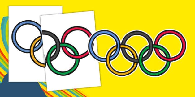 Olympic Display Rings - usa, america, olympics, 2016 olympics, rio 2016, rio olympics, display rings, display, rings