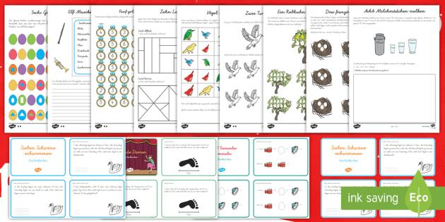 zw lf tage bis weihnachten matheaufgaben materialienb ndel feiertage. Black Bedroom Furniture Sets. Home Design Ideas