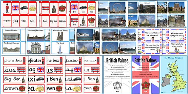 Childminder British Values Resources Pack - resources, pack