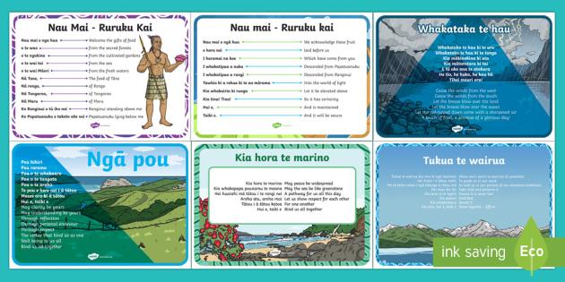 Ruruku Māori Incantations Activity and Display Pack Te Reo Māori/English - Australia, te reo maori, maori incantations, ruruku