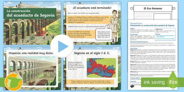 Pack de programación: El acueducto de Segovia - Cuarto Curso