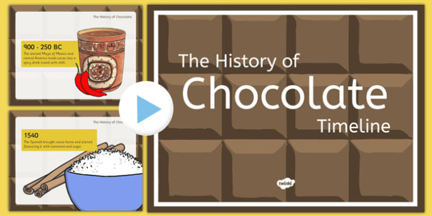 The History of Chocolate Timeline Presentation - history of