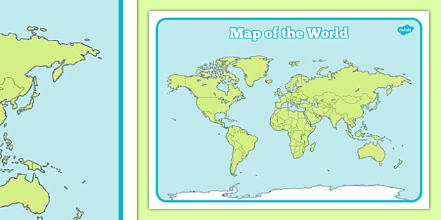 Map of the world sheet map map of the world world atlas gumiabroncs