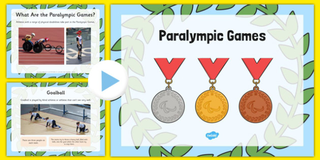 EYFS Paralympic Games Information PowerPoint - EYFS planning, Early years, Rio 2016, Olympic Games