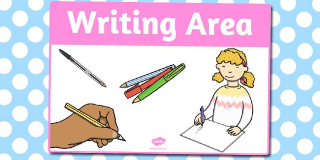 Writing Area Sign - area, sign, area sign, writing, write area