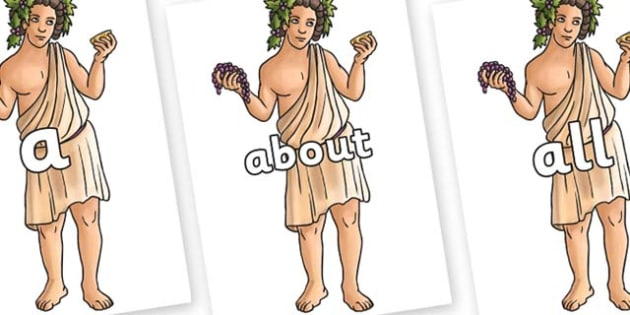 100 High Frequency Words on Dionysus - High frequency words, hfw, DfES Letters and Sounds, Letters and Sounds, display words
