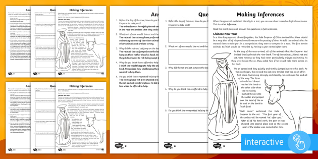 chinese new year inference worksheet ks2 chinese new year topical story. Black Bedroom Furniture Sets. Home Design Ideas