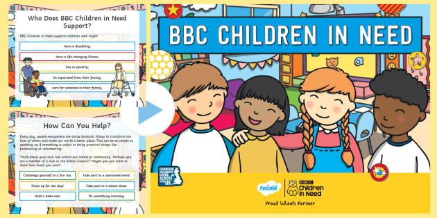 children in need presentation children in need powerpoint