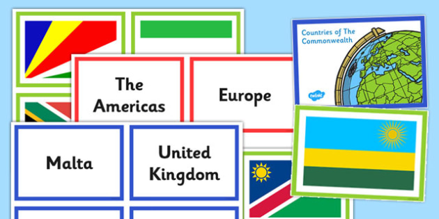 Commonwealth Countries Matching Activity - commonwealth, match