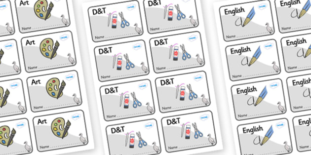 Cygnet Themed Editable Book Labels - Themed Book label, label, subject labels, exercise book, workbook labels, textbook labels