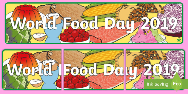Image result for pictures of world food day 2019