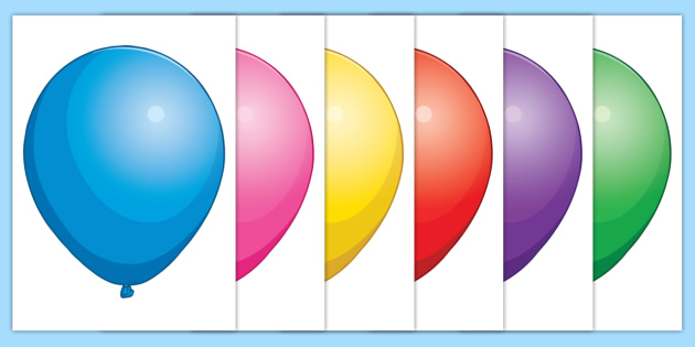 photo about Balloon Template Printable named Totally free! - Editable Balloon Posters - Balloon, balloons