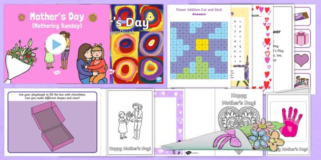 Ks1 Mother S Day Resource Pack Ks1 Ks2 Mother S Day Uk 26 3 17