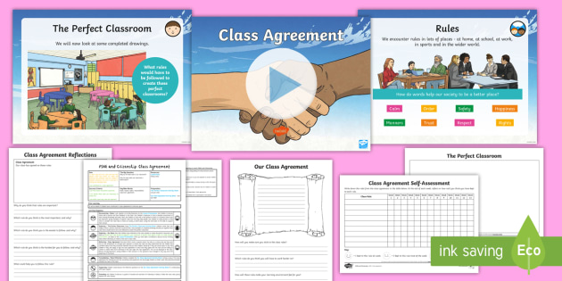 New Pshe And Citizenship Uks2 Class Agreement Lesson Pack Rules