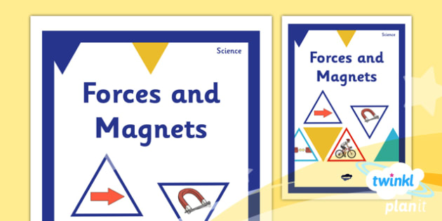 Science: Forces and Magnets Year 3 Unit Book Cover