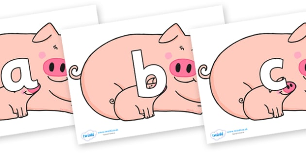 Phoneme Set on Hullabaloo Pigs to Support Teaching on Farmyard Hullabaloo - Phoneme set, phonemes, phoneme, Letters and Sounds, DfES, display, Phase 1, Phase 2, Phase 3, Phase 5, Foundation, Literacy