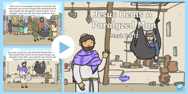 What I learn from Jesus heals a paralytic