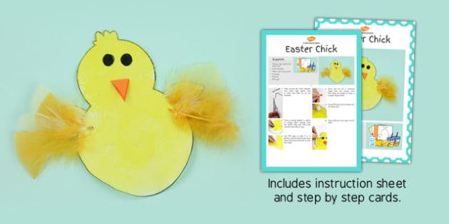 Chick Craft Instructions - chick, craft, instructions, model