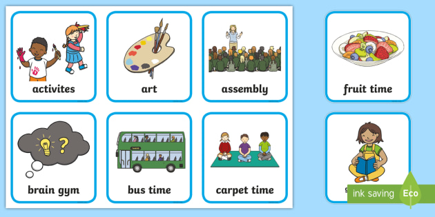 FREE! - Editable Reception / Foundation Stage 2 Visual Timetable ...