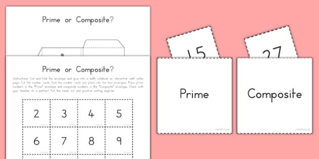 Prime or Composite Interactive Math Activity - usa, america, interactive, prime, composite