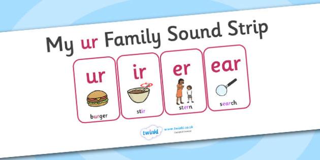My ur Family Sound Strip - family sound strip, sound strip, my family sound strip, my ur sound strip, ur sound strip, ur family sound strip