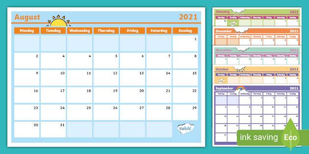 Ou Spring 2022 Calendar.2021 2022 Academic Year Calendar Teacher Made