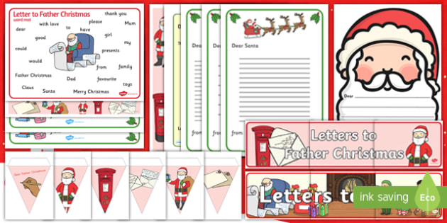 Letter to Father Christmas Resource Pack-Australia