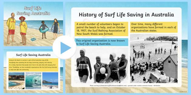 Surf Life Saving Australia PowerPoint - Surf Life Saving Australiasurfingsurfbeachsummeraustralialife guardlifesaver, Australia