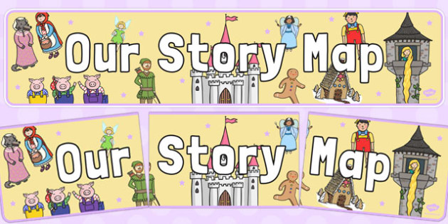 Our Story Map Display Banner - our story map, display banner, display