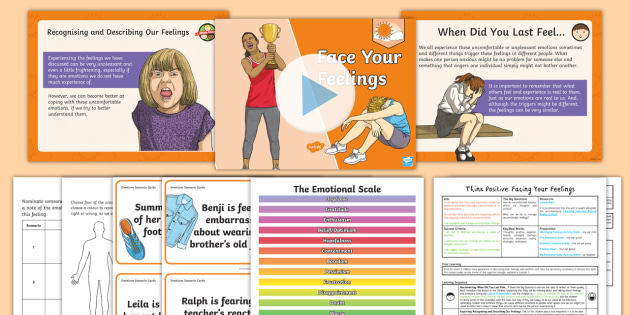 PSHE and Citizenship - Y6 Think Positive - Lesson 3: Face