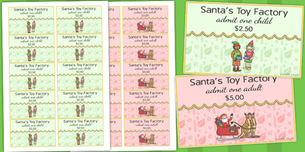 Toy Factory Role Play Tickets - australia, toy factory, christmas