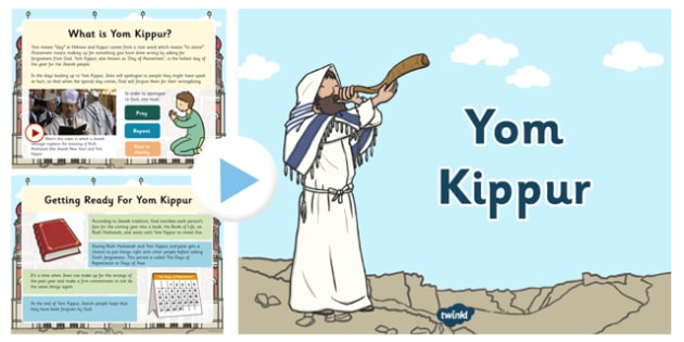 What is Yom Kippur? PowerPoint - yom kippur, powerpoint, judaism, holy